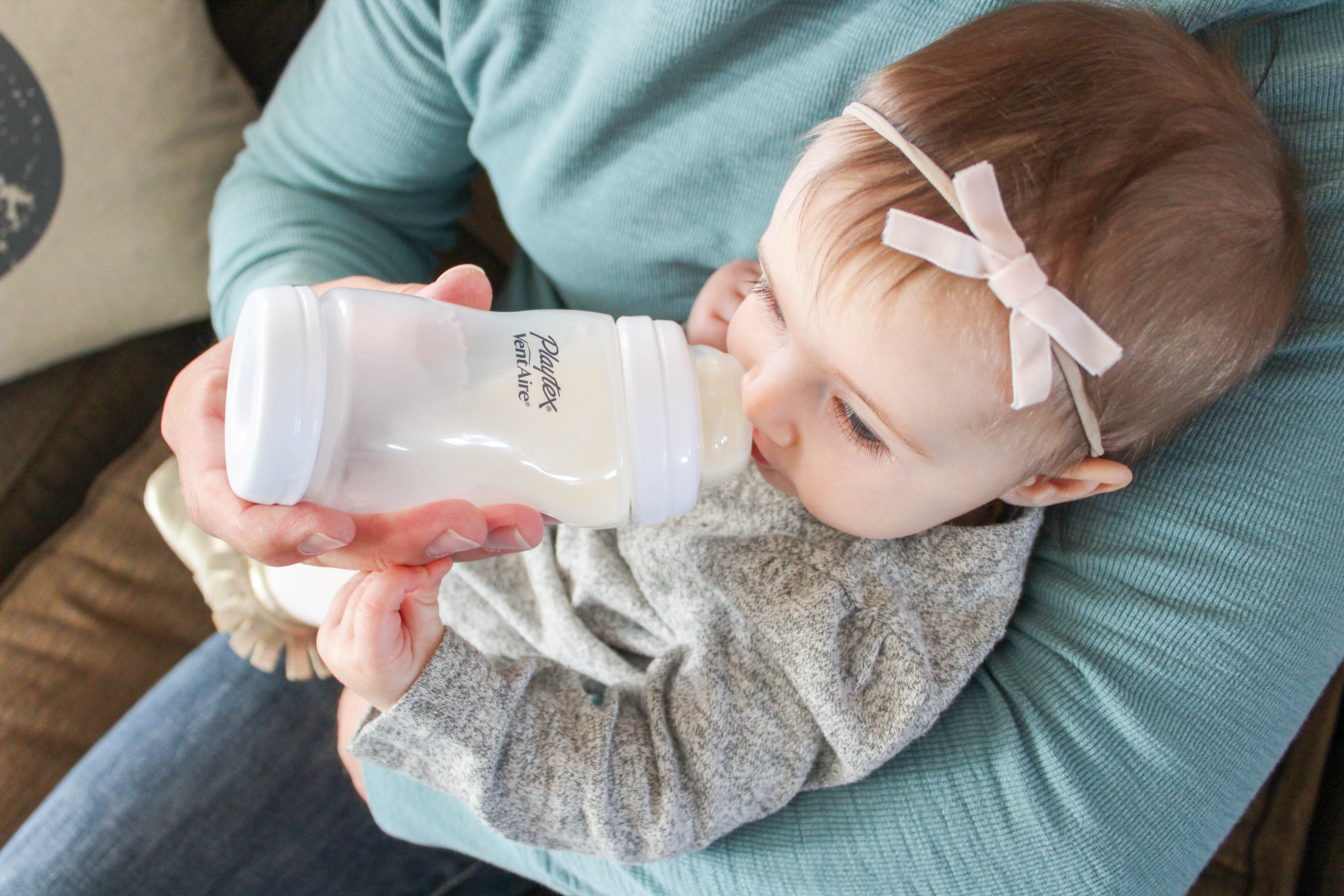 Peace of Mind thanks to the Playtex® Ventaire™ bottle
