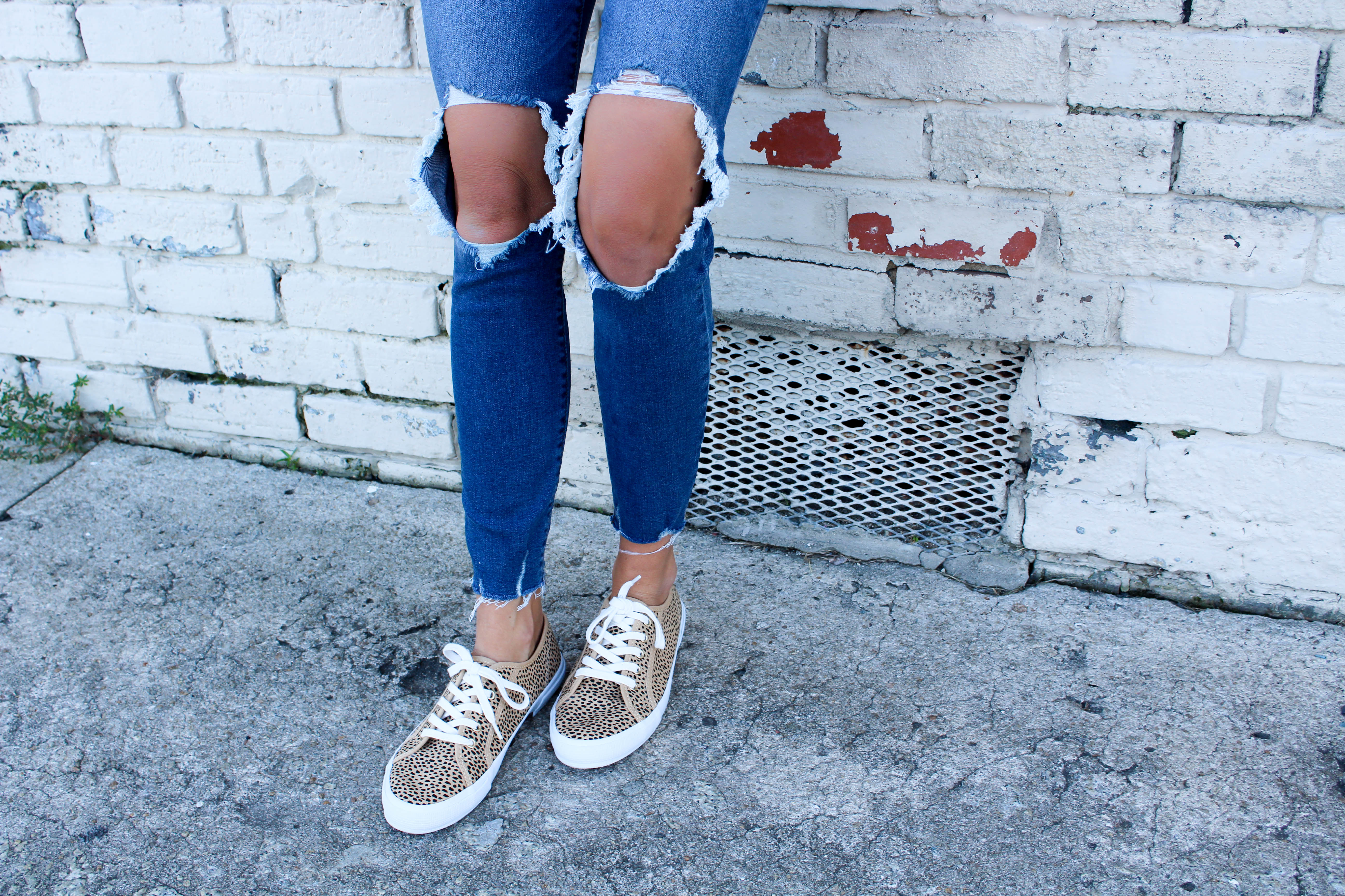 Transitioning to Fall via Old Navy