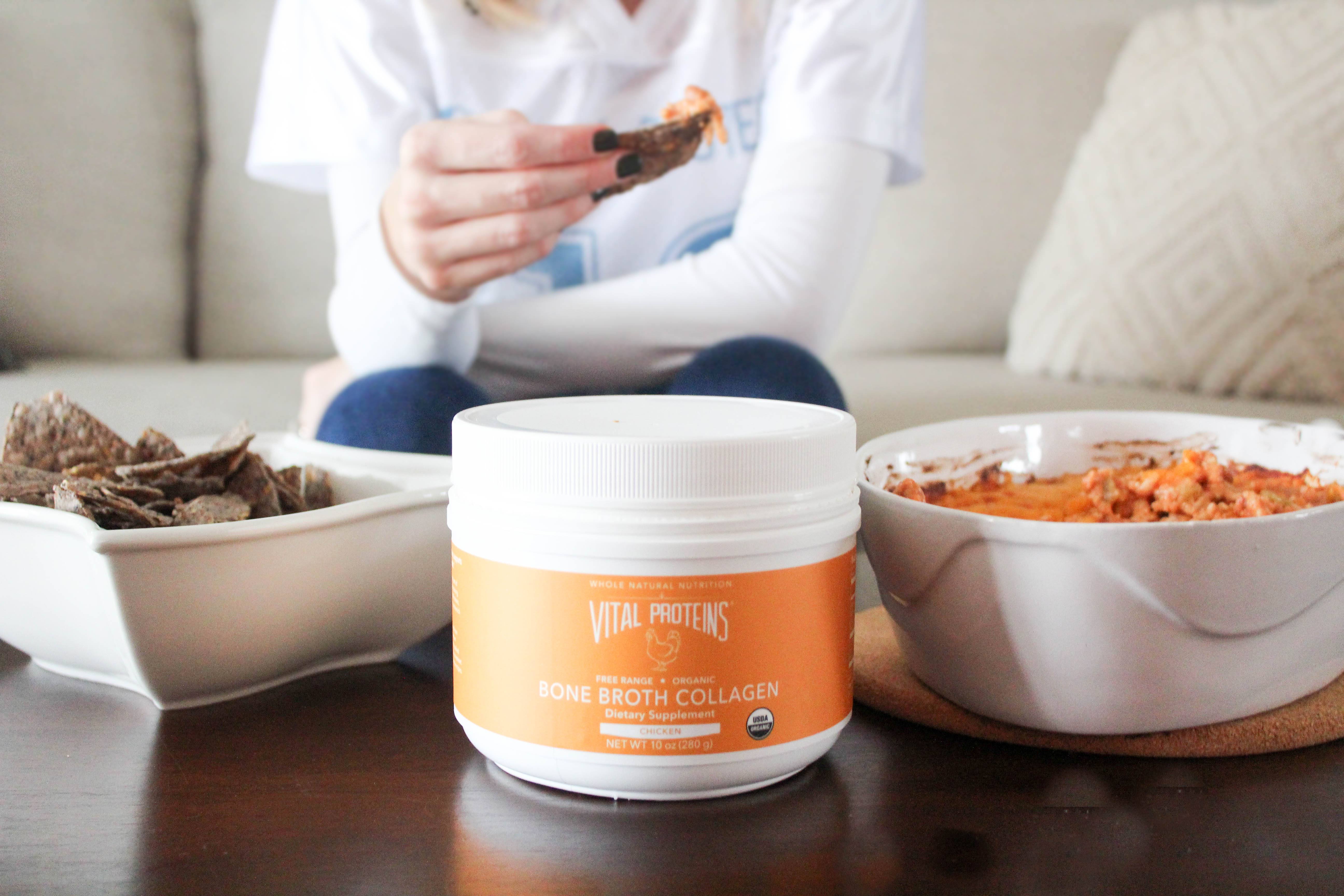 GAMEDAY Dip with Vital Proteins